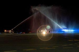 Vilniaus oro uoste nusileido pirmasis keleivinis lėktuvas po rekonstrukcijos