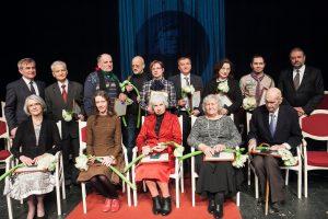 Apdovanoti G. Petkevičaitės-Bitės medalių laureatai