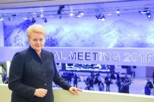 D. Grybauskaitė: tarptautines kompanijas pritraukia išvystyta infrastruktūra