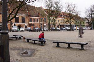 Nuspręsta: kauniečiai burmistro J. Vileišio paminklą nori matyti Rotušės aikštėje