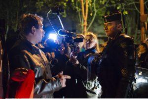 Prancūzijoje jau trečią vakarą tęsėsi policijos protestai