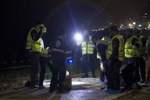 Tel Avive palestinietis nužudė amerikietį ir sužeidė 12 žmonių