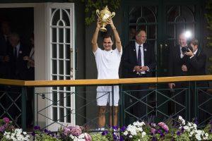 Nepakartojamas: R. Federeris aštuntą kartą tapo Vimbldono čempionu
