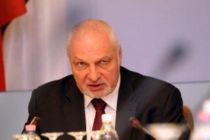 V. Mazuronis teigia neturįs žinių apie korupcinius sandorius Aplinkos ministerijoje