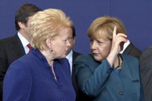 D. Grybauskaitė: Europai vienybė reikalinga kaip niekada anksčiau