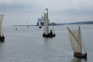 Sugriuvusi istorinių laivų flotilė