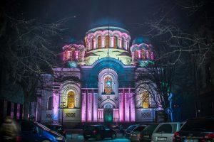 Naktinis Kaunas nušvis naujomis spalvomis