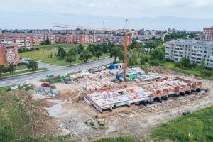 Socialinių būstų namo statybos – be didesnių trukdžių