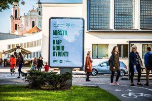 """Socialinė kampanija """"Mirštu, kaip noriu gyventi"""" – geriausia visame Baltijos regione"""