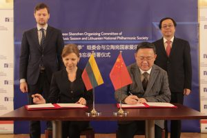 Nacionalinė filharmonija bendradarbiaus su kinais
