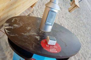 Neįgaliųjų paplūdimyje vandalai išrovė stotelę