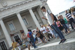 Šią vasarą Vilniuje turizmo savanoriai budėjo beveik 1000 valandų