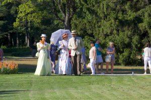 Birutės parkas nebyliai pasakoja romantišką kurorto istoriją