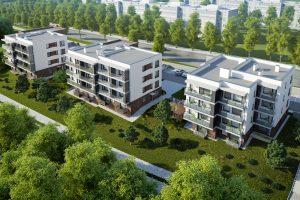 Ant Neries kranto Vilniuje išdygs trys nauji gyvenamieji namai