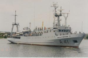 Karinės jūrų pajėgos minės istorinį laivo žygį per Atlanto vandenyną