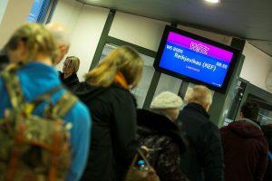 """""""Wizz Air"""" pradėjo skrydžius iš Vilniaus į Reikjaviką"""