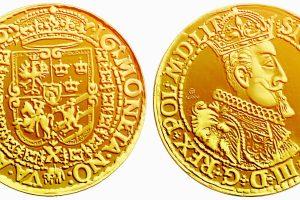 Z. Vazos 450-ųjų gimimo metinių proga – auksinių monetų replikos