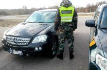 Kaunietis įkliuvo prie Vokietijoje pavogto mersedeso vairo