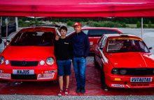 """""""Rally Fast"""" šeštadienį startuos trys lenktynininkų Samsonų kartos"""