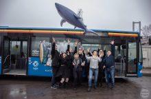 """""""Atvira kultūra"""" atriedėjo autobusais"""