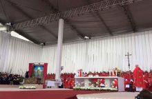 Istorinė diena: arkivyskupas T. Matulionis paskelbtas palaimintuoju