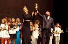 Iš tarptautinio konkurso N. Šiaudikytė parvežė pagrindinį prizą
