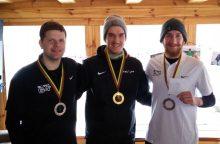 Lietuvos diskgolfo žiemos čempionate – pripažintų lyderių pergalės