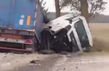 Dvi kraupios avarijos – žuvo žmogus