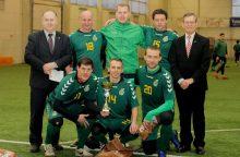 Vasario 16-osios senjorų futbolo turnyre – Kauno komandų dviguba šventė