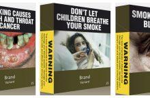 Ar veikia bauginimas ant cigarečių pakelių?