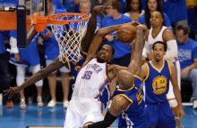 NBA čempionas išlygino Vakarų konferencijos finalo serijos rezultatą