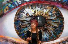 Iš Ukrainos karo lauko amunicijos kuria meną
