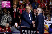 Oficialu: D. Trumpas Pentagono vadovu paskirs buvusį generolą