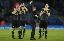 """""""Chelsea"""" sutriuškino Anglijos čempionus"""