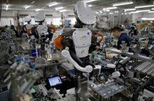 Verslininkai prognozuoja robotizacijos augimą