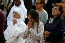 Maltoje aukotos mišios nužudytai žurnalistei pagerbti