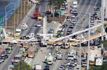 Majamyje sugriuvus naujai pastatytam viadukui žuvo šeši žmonės <span style=color:red;>(atnaujinta)</span>