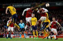 """""""Arsenal"""" neįveikė be trenerio likusio """"Atletico"""" klubo"""