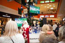 Įžiebta inovatyviausia Kalėdų eglutė Baltijos šalyse