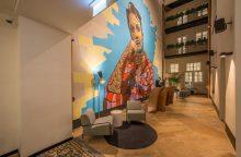 Vilniaus Senamiestyje duris atvėrė galerijai prilygstantis viešbutis