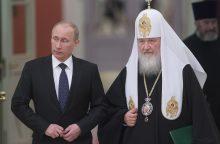 Rusijos patriarchas palaimino naują cerkvę Paryžiuje
