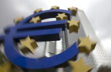 ECB kitą mėnesį pristatys naujo dizaino euro banknotus