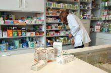 Farmacininkai priešinasi kai kurių vaistų pardavimui ne vaistinėse