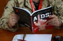 Uostamiestyje – daugiausia sergančiųjų AIDS