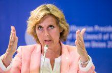 Eurokomisarė C. Malmstrom: ES prekybos sutartys Lietuvai naudingos