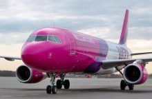 """""""Wizz Air"""" nutraukia skrydžius iš Vilniaus į Malmę"""