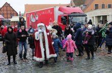 Kalėdų karavanas atvežė dovanų