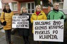 Krematoriumas Klaipėdoje: gyventojai pasiekė pirmąją pergalę