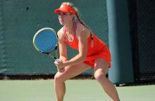 Tenisininkė J. Eidukonytė turnyre Švedijoje liko be pergalių