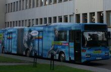Į kelionę po Lietuvą išvyksta Technologijų mokykla ant ratų